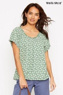 Зеленая футболка White Stuff