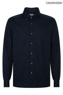 Calvin Klein Blue Liquid Touch Shirt