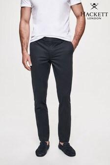 Hackett Blue Kensington Slim Chino Trousers