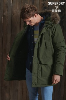 Superdry Khaki Everest Parka