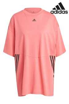 adidas 3 Stripe Oversized T-Shirt