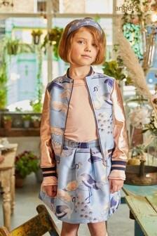 Angel's Face Blue Heron Baby Skirt