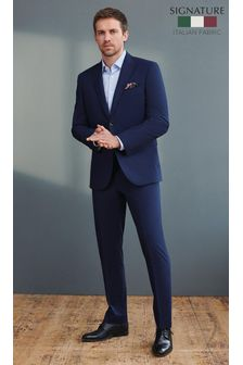 Signature Tollegno Fabric Puppytooth Suit: Trousers