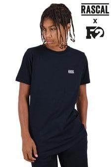 Темно-синяя базовая футболка Rascal