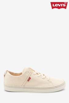 נעלי ספורט של Levi's® דגם Sherwood בלבן