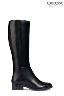 Geox Women's Felicity Black Boots