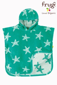 Frugi Organic Hooded Towel - Starfish