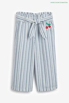 Benetton Blue Stripe Trousers