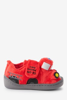 Fire Engine Slippers (Younger)