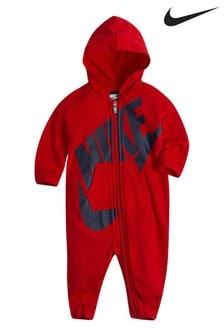 אוברול לתינוק של Nike בצבע אדום