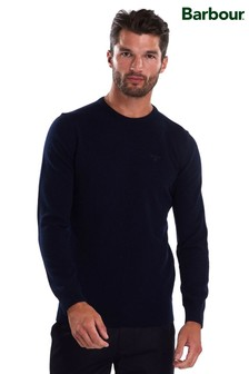 Barbour® Essential Lambswool Crew Neck Jumper
