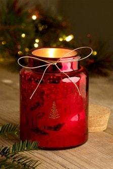 Festive Spice Jar Candle