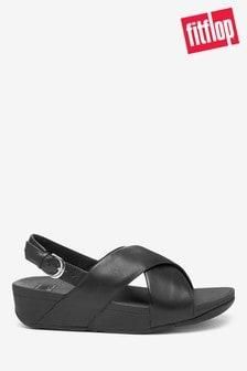 FitFlop™ Black Lulu Sandals