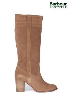 Barbour® Elena Kniehohe Stiefel mit Blockabsatz