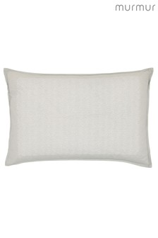 Murmur Willow Embroidered Linen Mix Cushion