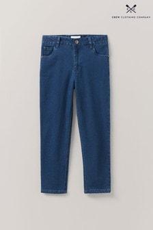 Crew Clothing Company藍色中度洗水緊身牛仔褲