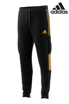 adidas Black Cargo Joggers