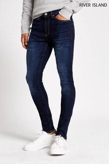 جينز أزرق داكن Zepplin من River Island