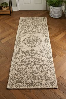 Шерстяной коврик в восточном стиле