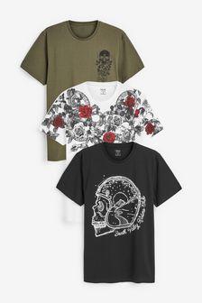 Набор футболок с надписью (3 шт.)