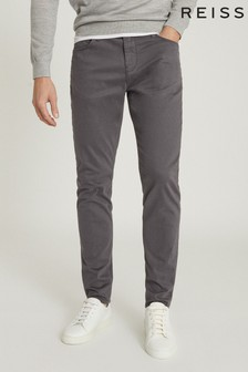 Reiss Kalkan Five Pocket Slim Fit Trousers