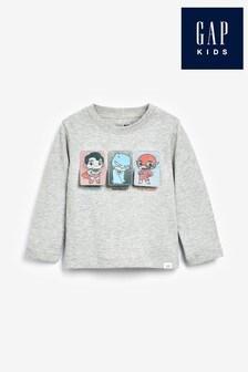 Gap DC Justice League Grafik-T-Shirt mit Wendepailletten