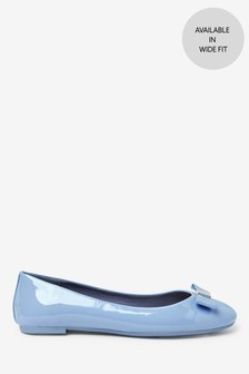 Hardware Bow Ballerina Shoes