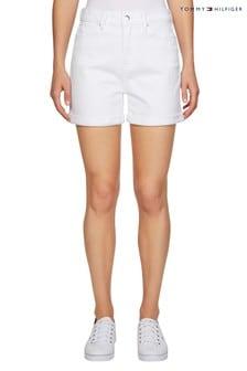 Белые джинсовые шорты Tommy Hilfiger Rome