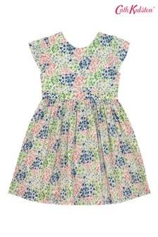 Cath Kidston Ayda Kleid mit Glockenblumenmuster, Creme