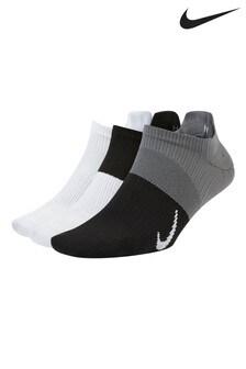 Nike Training Black/White Lightweight Invisible Socks