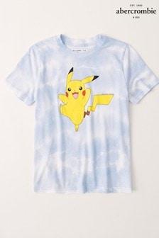 Abercrombie & Fitch Tie Dye Pikachu Graphic T-Shirt