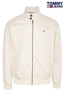 Кремовая хлопковая куртка Tommy Jeans