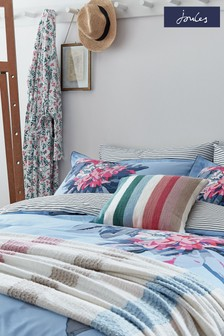 Joules Cornish Floral Pillowcases