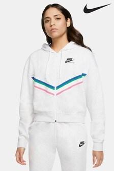 Nike Heritage Zip Through Hoody