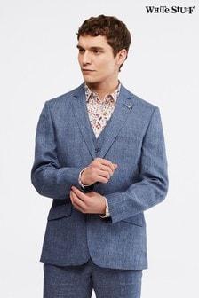 White Stuff Blue Northcote Linen Blazer (259824)   $225