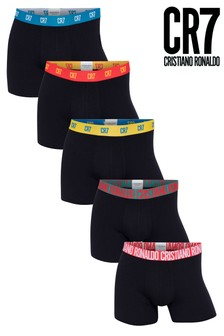 Lot de cinq boxers CR7 en coton