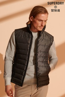 Superdry Black Everest Gilet