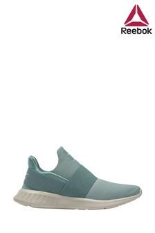 Pantofi sport fără șiret Reebok verde deschis