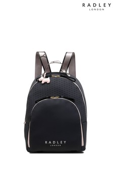 Radley Grey Crofters Way Large Zip Around Backpack