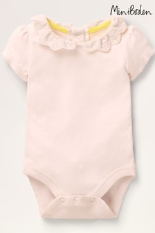 Boden Pink Detailed Collared Body