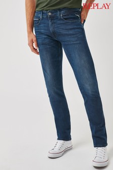 Replay Straight Leg Grover Fit Jeans