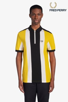 Fred Perry Zip Neck Cycling Poloshirt