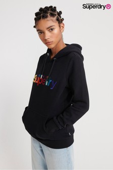 Superdry Classic Rainbow Embroidered Hoody