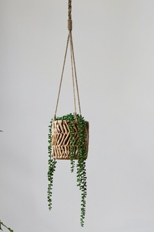 Hanging Woven Plant Pot