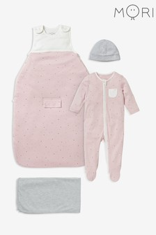 MORI Pink Clever Sleep Set