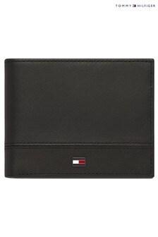 ארנק מיני של Tommy Hilfiger דגם Essential Flag בשחור