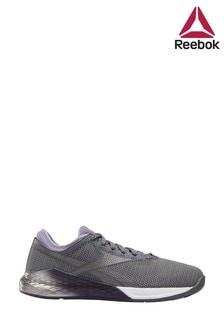 Reebok Run Grey/Purple Nano 9 Trainers