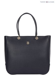 Tommy Hilfiger Blue TH Essence Tote Bag
