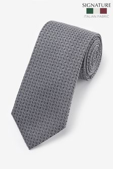 Signature Geometric 'Made in Italy' Tie