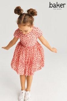 Baker by Ted Baker Pink Spot Dress